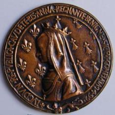 Medalla de Ana de Bretaña