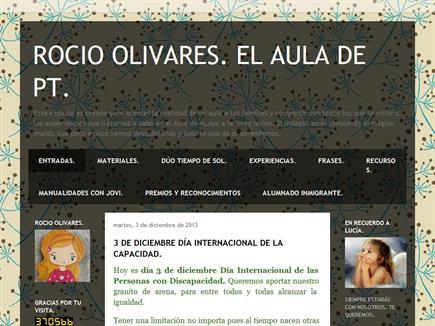 Rocío Olivares: El aula de PT