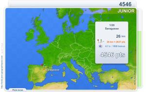 Villes d'Europe Junior. Jeux géographiques