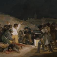 El tres de mayo de 1808, o Los fusilamientos en la montaña del Príncipe Pío