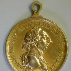 Medalla par el premio de la Academia de Derecho Español y Público