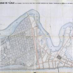 Plano general de la ciudad de Yloilo