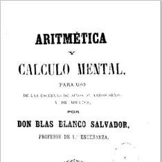 Aritmética y cálculo mental