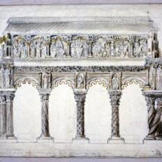 Cenotafio de los santos Vicente, Sabina y Cristeta en San Vicente de Ávila