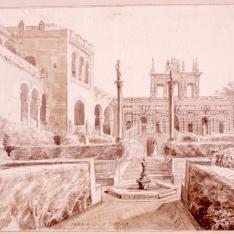 Jardín de la danza, Alcázar de Sevilla