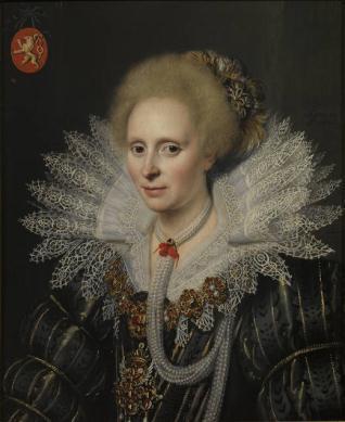Retrato de una señora de la familia Van Beijeren van Schagen (¿Theodora van Duvenvoorde?)