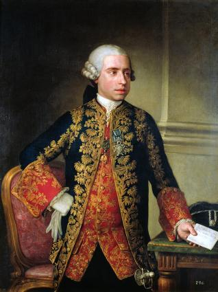 Retrato del Marqués de Astorga, Conde de Miranda y de Altamira