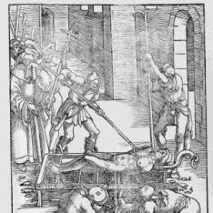 El martirio de San Lorenzo