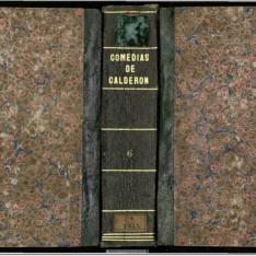 Sexta parte de comedias del celebre poeta español don Pedro Calderon de la Barca ...