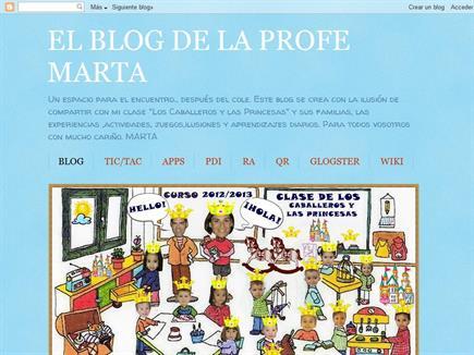 El blog de la profe Marta