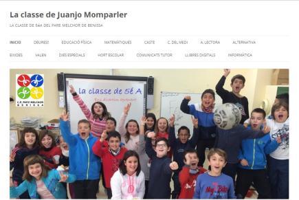 LA CLASE DE JUANJO MOMPARLER