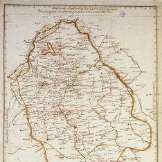 Mapa corográfico de la Provincia y Obispado de Cuenca