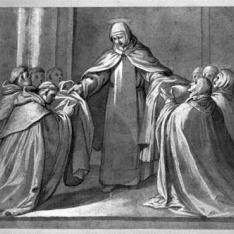 Escena de la vida de Santa Teresa