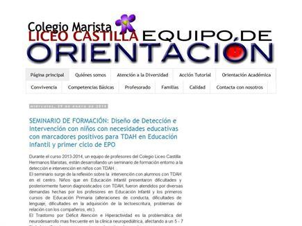 Equipo de Orientación Colegio Marista Liceo Castilla