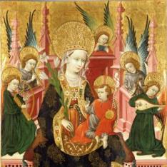 Virgen de Mosén Sperandeu de Santa Fé