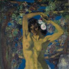 Desnudo bajo la parra