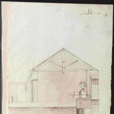 Sección de molino hidraúlico