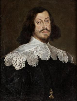 Caballero del Toisón de Oro - Retrato del Emperador de Austria Fernando III