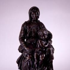 La Virgen con el Niño (reducción de la Madona de Brujas)