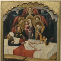 San Hipólito repone la pierna al boyero Pedro