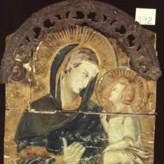 Copia de Virgen con el Niño de Pietro Lorenzetti