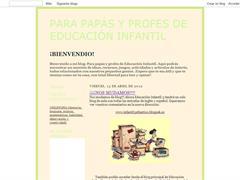 Para papas y profes de Educación Infantil