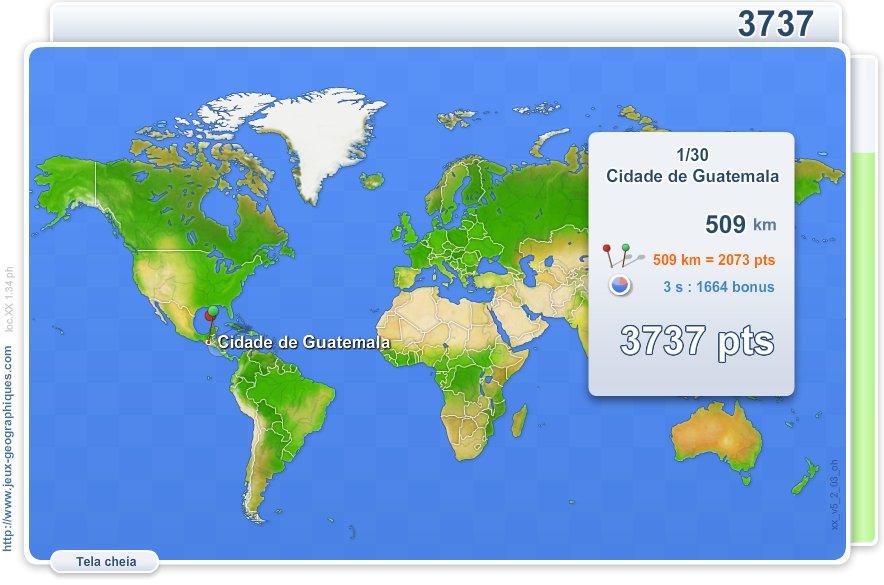 Mapa Interativo Do Mundo Cidades Do Mundo Jogos Geograficos
