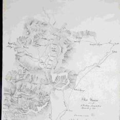 Plano Ytinerario de los valles de Cuartango, Lacozmente y Rivera alta y baja