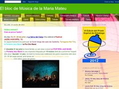 El blog de Música de la Maria Mateu
