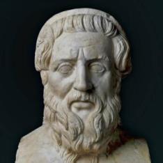Retrato del poeta Homero