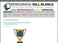 Reprografia Vall Blanca - Una reprografia molt especial