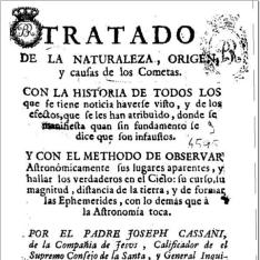 Tratado de la naturaleza, origen y causas de los cometas ...