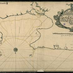 Plano de la Costa del Reyno de Tera Firme