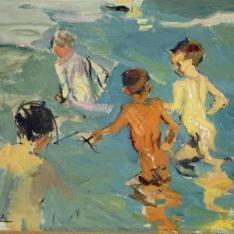 Niños en el baño, Valencia