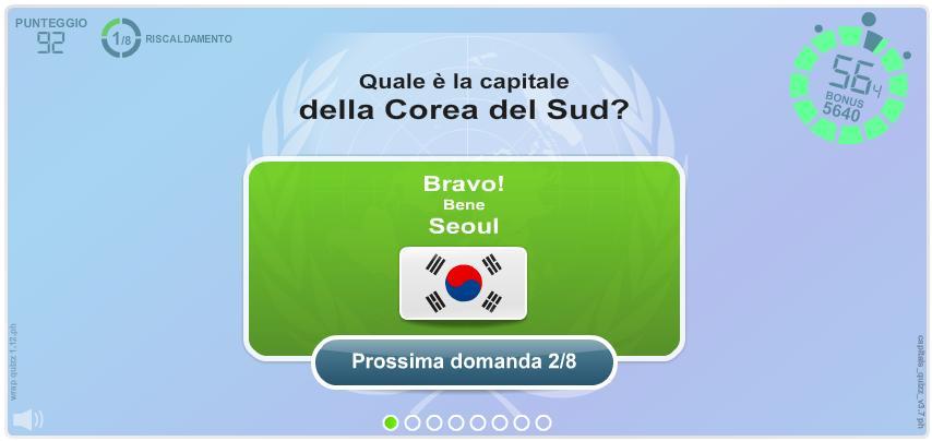 Capitali del Mondo. Giochi geografici