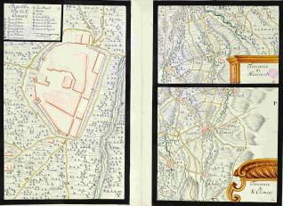 Plano della villa de Sn. Clemente