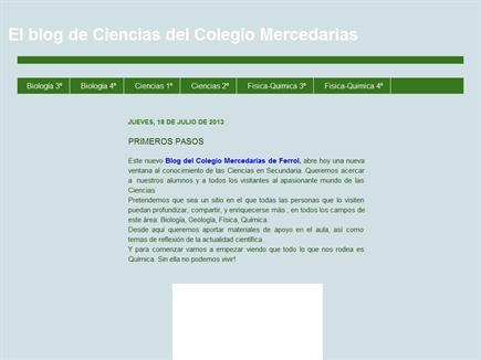 El Blog de Ciencias del Colegio Mercedarias