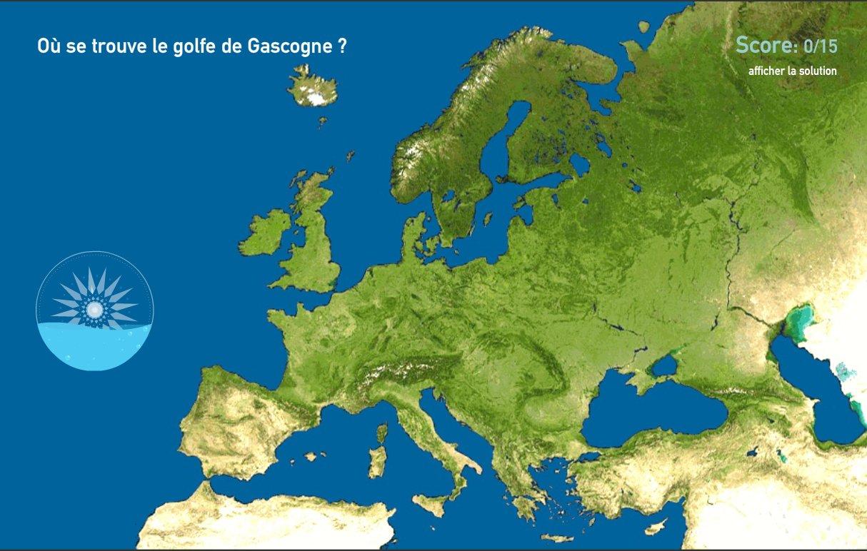 Mers de l'Europe. Toporopa