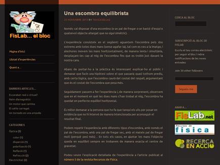 FisLab... el bloc