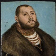 """""""Juan Federico I """"""""el Magnánimo"""""""", elector de Sajonia"""""""