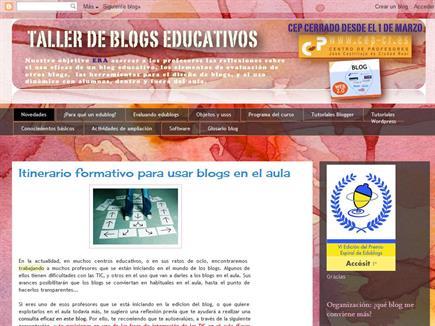 Taller de blogs educativos