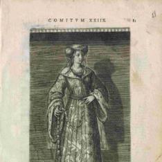 Retrato de Iacoba, condesa de Holanda