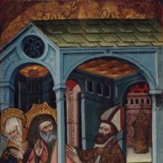 San Joaquín y Santa Ana expulsados del Templo