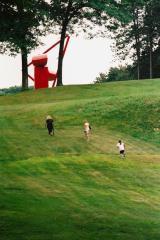 Esculturas como setas