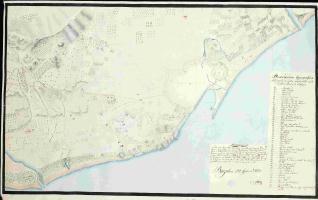 Descripcion topografica de la Costa comprendida entre el Río Besos y Llobregat