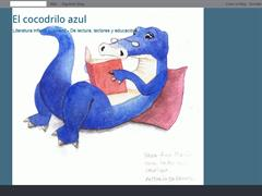El cocodrilo azul