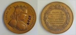 Medalla conmemorativa de la cesión del Palacio Real