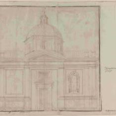 Proyecto de fachada lateral para la iglesia de San Matteo, Génova