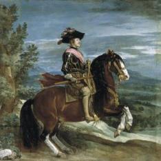 Felipe IV, a caballo