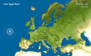 Europas øer. Toporopa